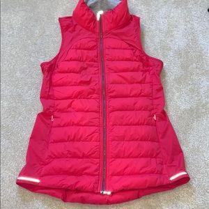 Lululemon running vest with reflective strip 6